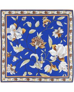 Corciova Women 100% Mulberry Silk Neck Scarf Small Square Scarves Neckerchiefs Flowers