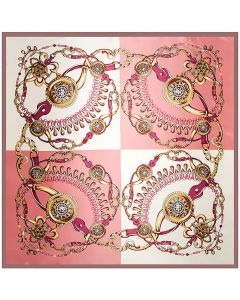 "Corciova 35"" Large Women's Polyester Square Silk Feeling Hair Scarf Wrap Headscarf Jewelry Pattern"
