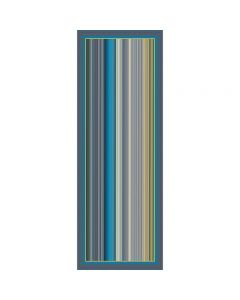 Corciova 14 Momme Satin 100% Real Mulberry Silk Long Women Scarfs Scarves stripe Pattern