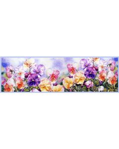 Corciova 16 Momme Double Layer Satin 100% Real Mulberry Silk Long Women Scarfs Scarves Colorful Flowers Pattern